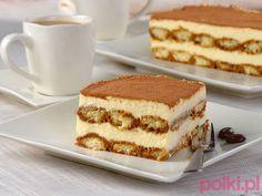 Biszkoptowe ciasto tiramisu Cake Recipes, Dessert Recipes, Tiramisu Cake, Bread Cake, Food Cakes, Sweet Desserts, Red Velvet, Ale, Cheesecake