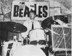 rare shot of Beatles at the Cavern