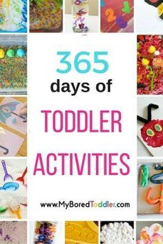 A toddler activity for every day of the year! If you are looking for activities for toddlers - craft activitives, sensory play ideas, Easter activities, Christmas activities, Seasonal activities, then you will find everything you need here!