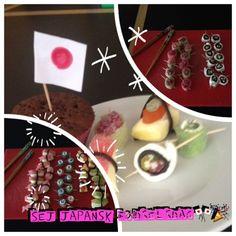 Sushi anretning til gæsterne Made by  Simone