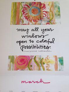 No melhor clima de Carnaval: Que em Março todas as suas janelas se abram para oportunidades coloridas....