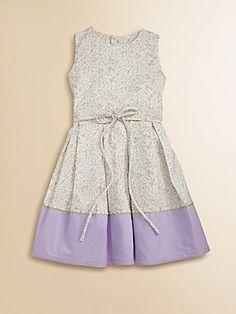Isabel Garreton Toddler's & Little Girl's Lavender Floral Dress