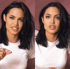 Angelina Jolie says looks dont matter if youre not intelligent in blunt new interview Angelina Jolie Short Hair, Angelina Jolie Fotos, Angelina Jolie Makeup, Angelina Jolie Pictures, Angelina Jolie Hairstyles, Hair Inspo, Hair Inspiration, Look Star, Hair Goals
