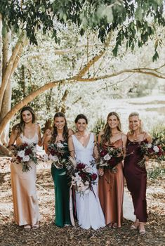20 Mismatched Bridesmaid Dresses for 2020 Maxi bridesmaid dresses and separates are timeless, and there are tons of ideas and colors to go for. Off the shoulder and V-neckline ones, bateau and high - Mismatched Bridesmaid Dresses Bridesmaid Dresses Under 100, Gold Bridesmaids, Mismatched Bridesmaid Dresses, Wedding Dresses, Bridal Party Dresses, Bridesmaid Dresses Different Colors, Prom Dresses, Mixed Bridesmaid Dresses, Fall Wedding Bridesmaids