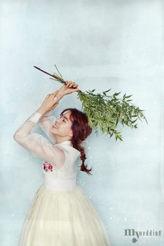 MYWEDDING 바이단 한복 꽃과 놀다