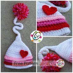 Cute crochet hat - free pattern