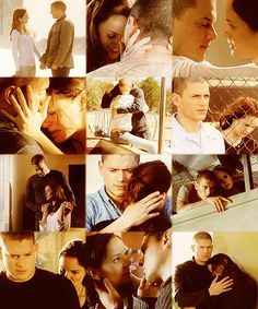 Prison Break Michael and Sara's cutest moments<3