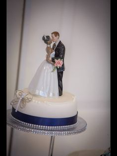This cake topper was well worth the trouble it took to get! It was impossible to find anything suitable (and tasteful) in England, surprising as mixed race families are growing more than at any other time