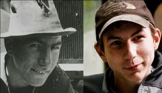 John and Parker Schnabel on Gold Rush! Grandfather and grandson look a lot alike