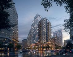 KPF Advances Growth of Boston Seaport with Towered Mixed-Use Building | Netfloor USA