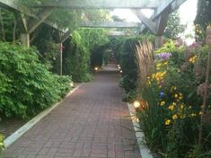 Walk way between Theatre by The Sea & Bistro by The Sea  #VisitRhodeIsland