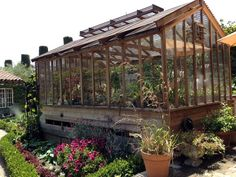 Greenhouse, Potting shed