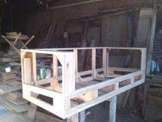 Resultado de imagen para estructura de sillones de madera
