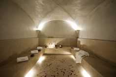 "See 13 photos and 8 tips from 117 visitors to Le Bain Bleu. ""Good hammam, professional and nice atmosphere"" Pool Bar, Spa Hammam, Polished Plaster, Riad, Traditional Baths, Sauna Room, Tadelakt, Turkish Bath, Bath"