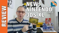 New Nintendo 3DS XL Review & New Amiibo Unboxing