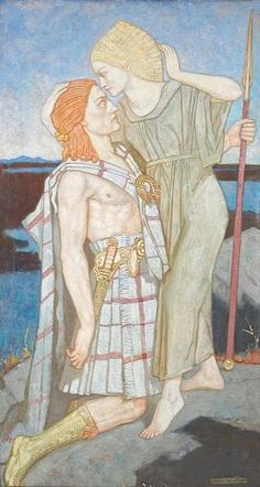 Diarmid  by John Duncan (Scottish 1866-1945)