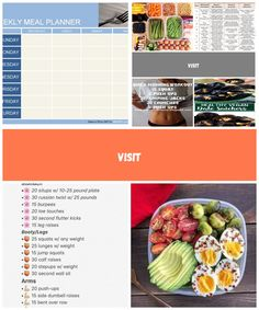 Weekly Meal Planner Template Word Inspirational Weekly Meal Planner Template diet plan template Weekly Meal Planner Template, Best Diet Plan, Breakfast Lunch Dinner, Crunches, Best Diets, Meals For The Week, Inspirational, How To Plan, Fruit