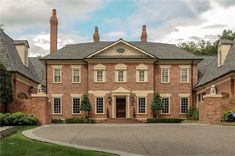 Lovely Georgian Estate Home - 32607WP | Georgian, Traditional, Luxury, Photo Gallery, Premium Collection, 1st Floor Master Suite, Butler Walk-in Pantry, Den-Office-Library-Study, In-Law Suite, MBR Sitting Area, Media-Game-Home Theater, Multi Stairs to 2nd Floor, PDF | Architectural Designs