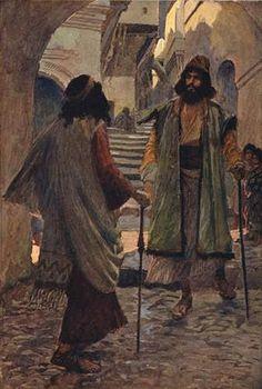 Saul meets with Samuel - James Tissot