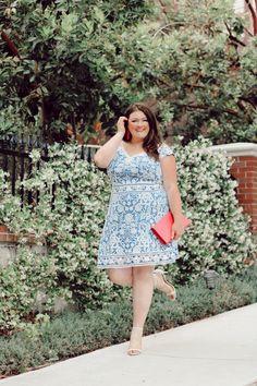 Stylish Plus-Size Fashion Ideas – Designer Fashion Tips Plus Size Summer Outfit, Plus Size Summer Dresses, Plus Size Outfits, Dresses For Work, Summer Dresses Sale, Dress Sale, Cute Plus Size Clothes, Plus Size Clothing Online, Tadashi Shoji Dresses