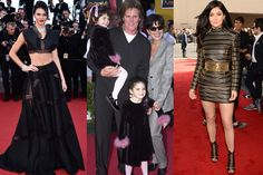 Now: Kendall at the Cannes Film Festival and Kylie at the Billboard Music Awards Then: With their parents at Emperor's New Groove premiere in 2000.   - ELLE.com