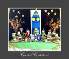 Peter Pan candy buffet by candied confections