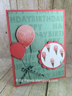 Weekly Deals, Stampin' Up!, BJ Peters