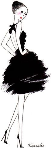 (••)                                                              Kanako, illustratrice, agence Marie Bastille