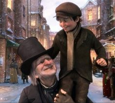 FILM: A Christmas Carol, BBC Two Jim Carey and Gary Oldman star in this magical animation of Charles Dickens' classic tale of a foul-tempered Victorian miser who hates the festive season. Christmas Quotes, Christmas Carol, Christmas Pics, Disney Christmas, Christmas Treats, Xmas, Half Updo Tutorial, Classic Christmas Movies, Bob Hairstyles For Thick