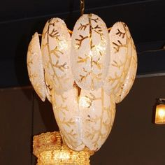 Located using retrostart.com > Hanging Lamp by Unknown Designer for Mazzega