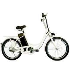 Nakto Elegance E-bike features a Motor. Durable high-strength carbon steel frame design in a white color. Electric Bikes For Sale, Electric Bicycle, Folding Electric Bike, Bicycle Paint Job, Bicycle Painting, Cool Bicycles, Vintage Bicycles, Bike Equipment, Retro Bike