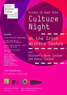Louise Phillips Writer: Culture Night at the Irish Writers' Centre! Writings, Travel Posters, Trivia, Imagination, Centre, Ireland, Irish, Writer, Events