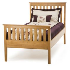 Grace 3ft Single Bed in Cherry