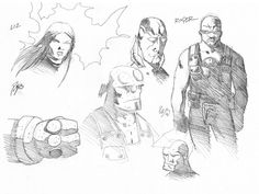 Hellboy & the B.P.R.D With Savage Dragon.