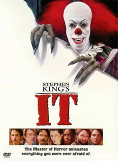 IT Movie Poster - Scariest sh** EVER!!!!