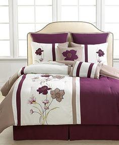 CLOSEOUT! Myra 8 Piece Full Comforter Set