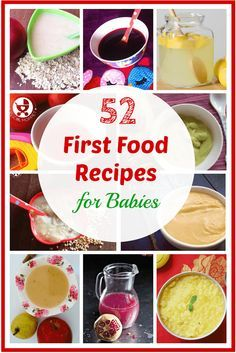Starting solids is a momentous occasion for Mom and baby! Make this a stress free experience with our ultimate list of 52 first food recipes for babies.