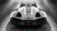 Spark's 2018 Formula E electric race car chassis: rear view Auto Motor Sport, Sport Cars, Race Cars, E Electric, Electric Motor, Series Formula, Futuristisches Design, Yanko Design, Design Trends