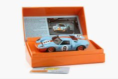 Slot cars, Slot.it Ford GT40 CW16, 'Winners Collection' Le Mans 1968 - See more at: http://manicslots.blogspot.com.au/#sthash.vKDLzr1l.dpuf