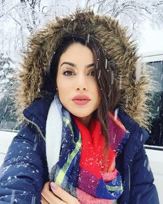 Snow selfie! by camilacoelho