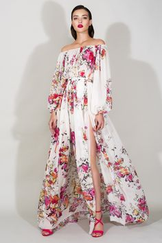 Check out the whole Zuhair Murad Resort 2016 Collection By Clicking through the gallery. Photos: Courtesy of Zuhair Murad Zuhair Murad, Fashion Week, Fashion Show, Fashion Design, Fashion Trends, Costume, Looks Style, Trends 2018, The Dress