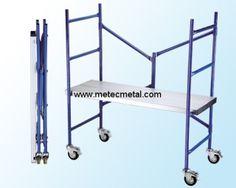 Mini aluminum scaffold http://met.creatrue.net/Aluminium-Scaffolding_323.html#.U6OPnXKSzR8