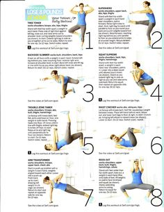 This is my workout that appeared in SELF  Magazine. Six great, do-anywhere moves!
