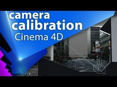 Camera Calibration тэг в Cinema 4D и немного про Camera Mapping - C4D 005 - YouTube Digital Cinema, Cinema 4d Tutorial, Uv Mapping, How To Get Better, Stop Motion, Motion Design, Motion Graphics, Animation, Learning