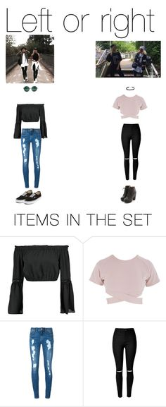 """""""Lisa and Lena"""" by stylechip12 ❤ liked on Polyvore featuring art"""