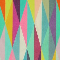 Børstet bomull m multifarget grafisk Color Inspiration, Little Boys, Modern Art, Bomuld, Quilts, Abstract, Artwork, Material, Backgrounds