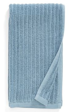 Nordstrom at Home 'Modern Rib' Hand Towel - Blue (2 for $24)