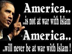 BARACK OBAMA: Islam's Epic Apologist - http://conservativeread.com/barack-obama-islams-epic-apologist/