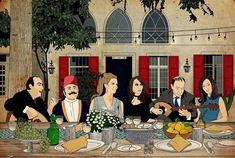 Pop Art Collage, Vintage Graphic Design, Arabic Art, Beirut, Lebanon, Interior Design, Drawings, Anime, Pictures
