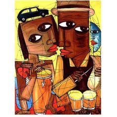 Trademark Fine Art Al Son del Sentimiento II Canvas Art, Size: 18 x 24, Multicolor